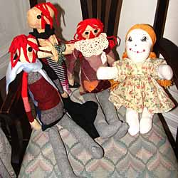 Handcrafted WV Dolls