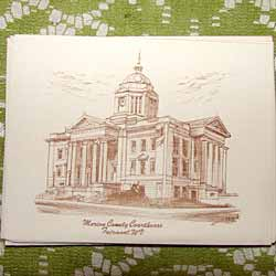Court House Note Cards