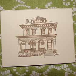 Sheriff's Residence Note Cards