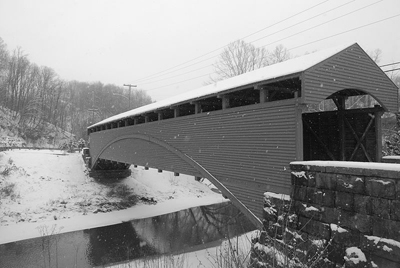 The Barrackville Covered Bridge